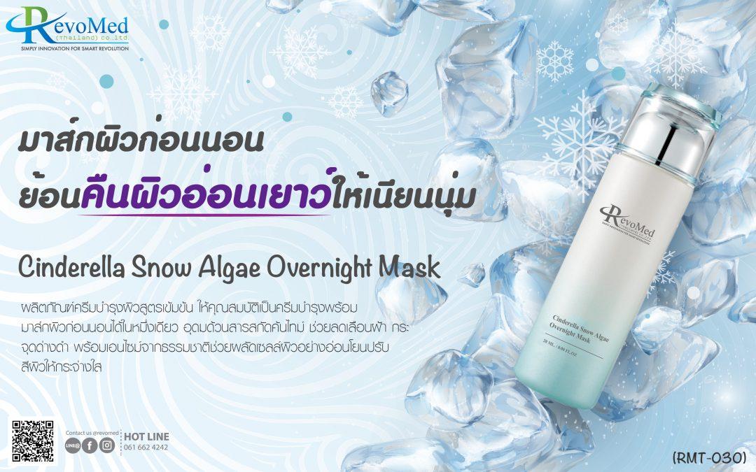 RMT030 Cinderella Snow Algae Overnight Mask