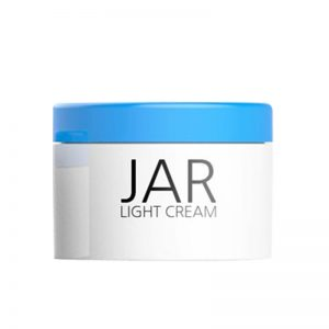 Light Cream Jar