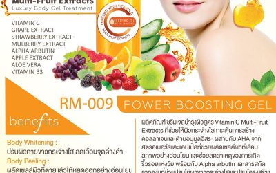 Multi-Fruit Extracts Luxury Body Gel Treatment RM-009
