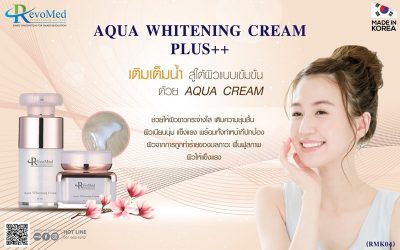 RMK04 Aqua Whitening Cream Plus++ (Made in Korea)