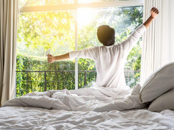 จะนอนดีต้องรับแสงแดดยามเช้า